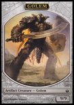 Golem TOKEN 9/9 - Mirrodin Besieged