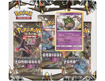 Pokemon Forbidden Light 3-Pack Blister: Garbodor