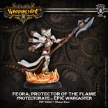 Protectorate of Menoth Epic Warcaster Feora, Protector Of The Flame