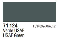 Vallejo Model Air: USAF Green 71.124