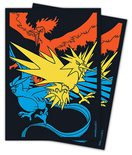 Pokemon Hidden Fates Moltres & Zapdos & Articuno 65ct Sleeves