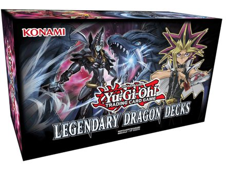 Yu-Gi-Oh Legendary Dragon Decks: Holiday Box 2017