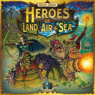 Heroes of Land, Air & Sea (PREORDER)