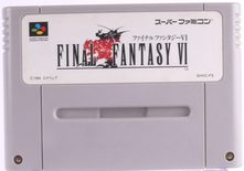 Final Fantasy VI (Super Famicom) - SNES
