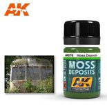 AK Interactive Enamel Color: Moss Deposits 35ml