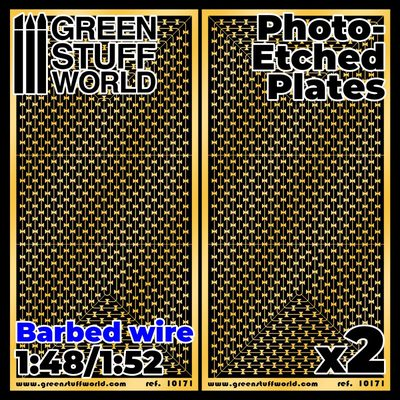 GSW Photo-etched Plates: Barbed Wire
