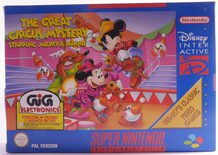 Great Circus Mystery, The: Starring Mickey and Minnie - SNES