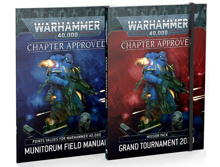 Chapter Approved: Grand Tournament 2020 Mission Pack and Munitorum Field Manual (9th Edition)
