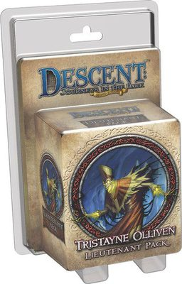 Descent (2nd Ed): Tristayne Olliven Lieutenant Pack