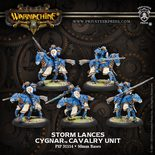 Cygnar Storm Lances Cavalry Unit