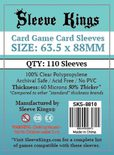 Sleeve Kings Sleeves Standard Size Clear (110ct)