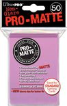 Ultra Pro Sleeves Matte Pink (50pcs)