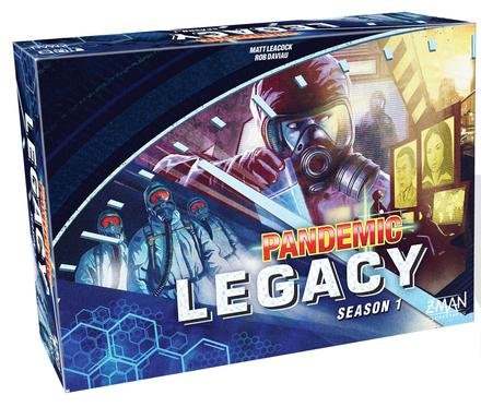 Pandemic Legacy: Season 1 (Blue Version)