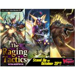 Cardfight Vanguard V The Raging Tactics Extra Booster