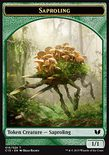 Saproling 1/1 // Spider 1/2 TOKEN - Commander 2015
