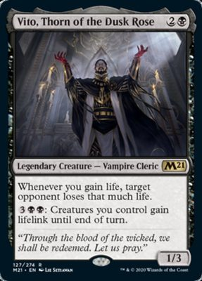 Vito, Thorn of the Dusk Rose - Core 2021