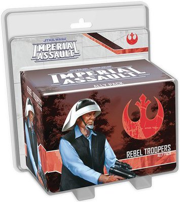 Star Wars Imperial Assault: Rebel Troopers Ally Pack