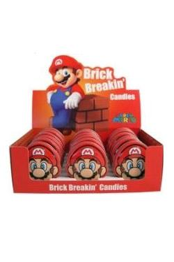 Nintendo Tins Super Mario Bros Brick Breakin Candies