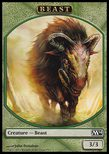 Beast TOKEN 3/3 - Magic 2014