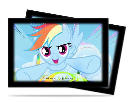 Ultra Pro Japanese Size YGO Sleeves My Little Pony Rainbow Dash (60pcs, YGO/CFV)