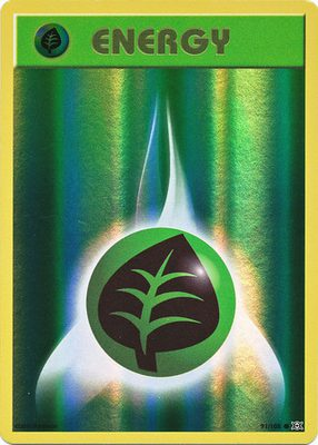 Grass Energy 91/108 Reverse Holo - X&Y Evolutions