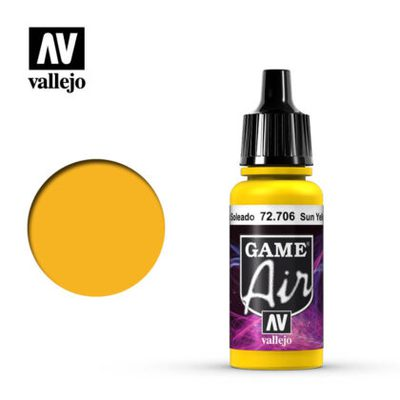 Vallejo Game Air: Sunblast Yellow 72.706