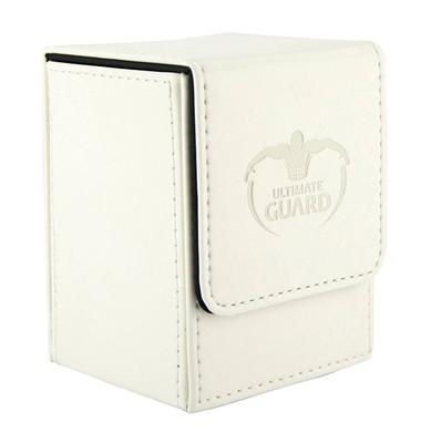 Ultimate Guard Deck Box, Flip Deck Case 100+ White