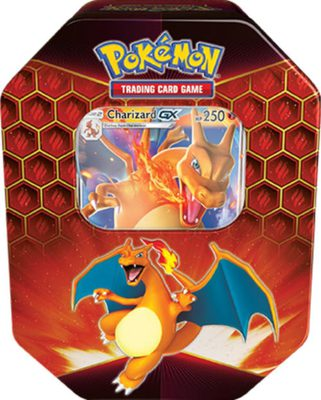 Pokemon Hidden Fates Tin Charizard-GX