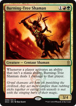 Burning-Tree Shaman - Guild Kit