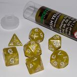 Blackfire Dice Set (7x 16mm Dice, Flash Yellow)