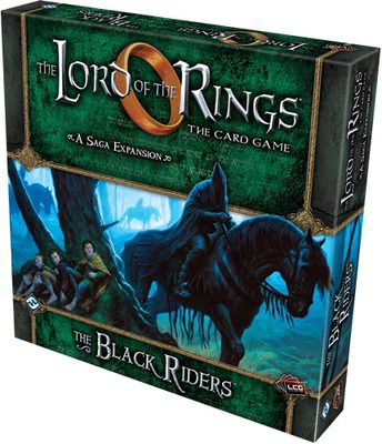 Lord of the Rings LCG: Black Riders Deluxe Expansion
