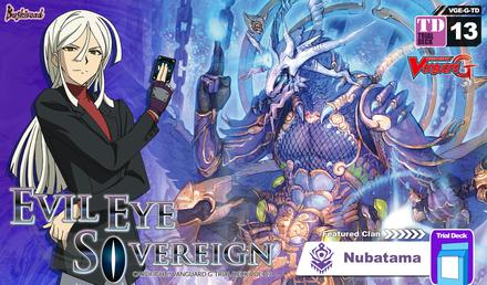Cardfight Vanguard G Trial Deck 13: Evil Eye Sovereign