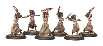 Circle Orboros Tharn Bloodweavers