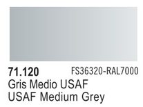Vallejo Model Air: USAF Medium Grey 71.120