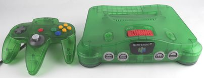 Nintendo 64 Console Jungle Green (Includes Expansion Pak)