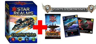 Colony Wars + Crisis - Fleets & Fortresses Pack