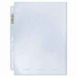 "Ultra Pro Platinum Binder Page 1-Pocket (8"" x 10""), box (100ct)"