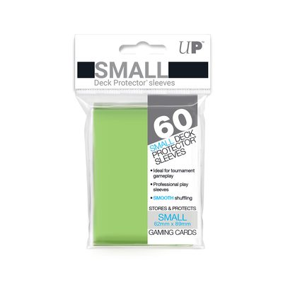 Ultra Pro Deck Protector Small Sleeves, Lime (60ct)