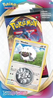 Pokemon SS1: Sword & Shield 1-Pack Checklane Blister Wooloo