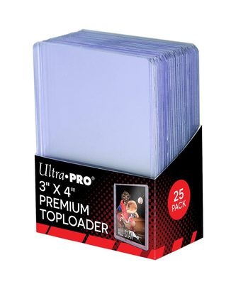 Ultra Pro Regular Toploader (25pcs)