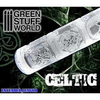 Rolling Pin: Celtic