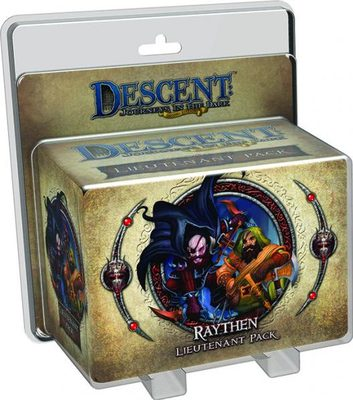 Descent (2nd Ed): Raythen Lieutenant  Pack