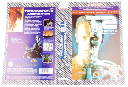 T2 Terminator 2 Judgment Day (Orginal YAPON Rental Cover Paper)