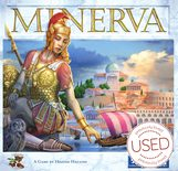 Minerva (kickstarter metal coins and wooden tokens) *USED*