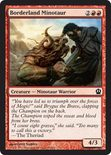 Borderland Minotaur - Theros