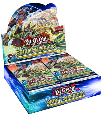Yu-Gi-Oh! Spirit Warriors Booster Display Box