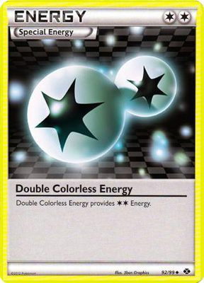 Double Colorless Energy 92/99 - Black & White 4: Next Destinies