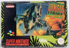 Jungle Strike - SNES