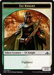 Elf Knight Token 2/2 - Guilds of Ravnica