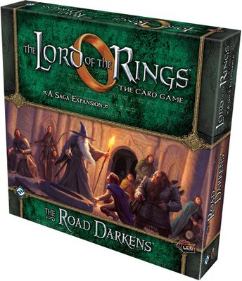 Lord of the Rings LCG: The Road Darkens Deluxe Expansion